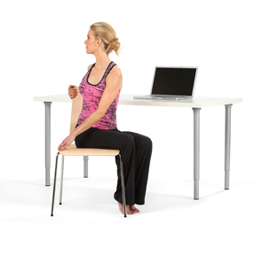 8 of the best office chair yoga exerises: | rejuvenation lounge